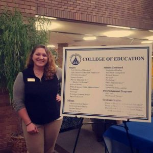 Sarah Miller, Senior Early Childhood Education Major