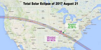 Greenwood in the Path of Rare Solar Eclipse
