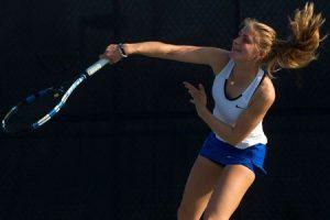 No.19 Georgia College women's tennis downs Lander