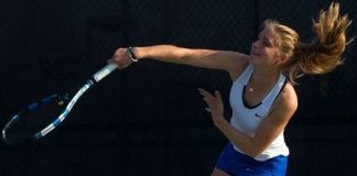 No.19 Georgia College women's tennis downs Lander