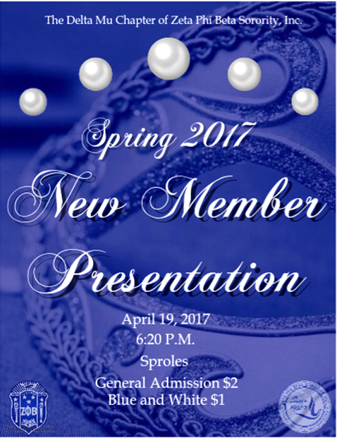 Zeta Phi Beta: New Members Presentation