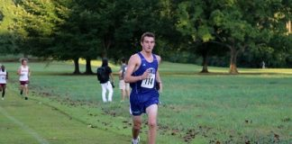 Fortenberry leads men's cross country to fifth-place finish in Augusta