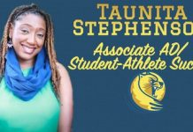 Taunita Stephenson Lander Athletics' Newcomer