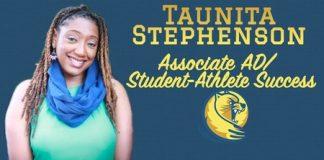 Taunita Stephenson Lander Athletics' Newcomer