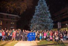 Holiday Tree Lighting At Lander!