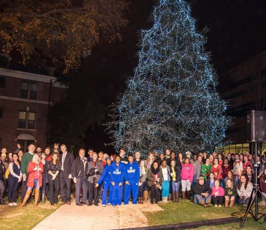 Holiday Tree Lighting At Lander!