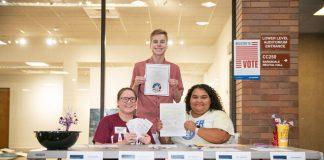 Lander group hosts voter registration drive for campus community