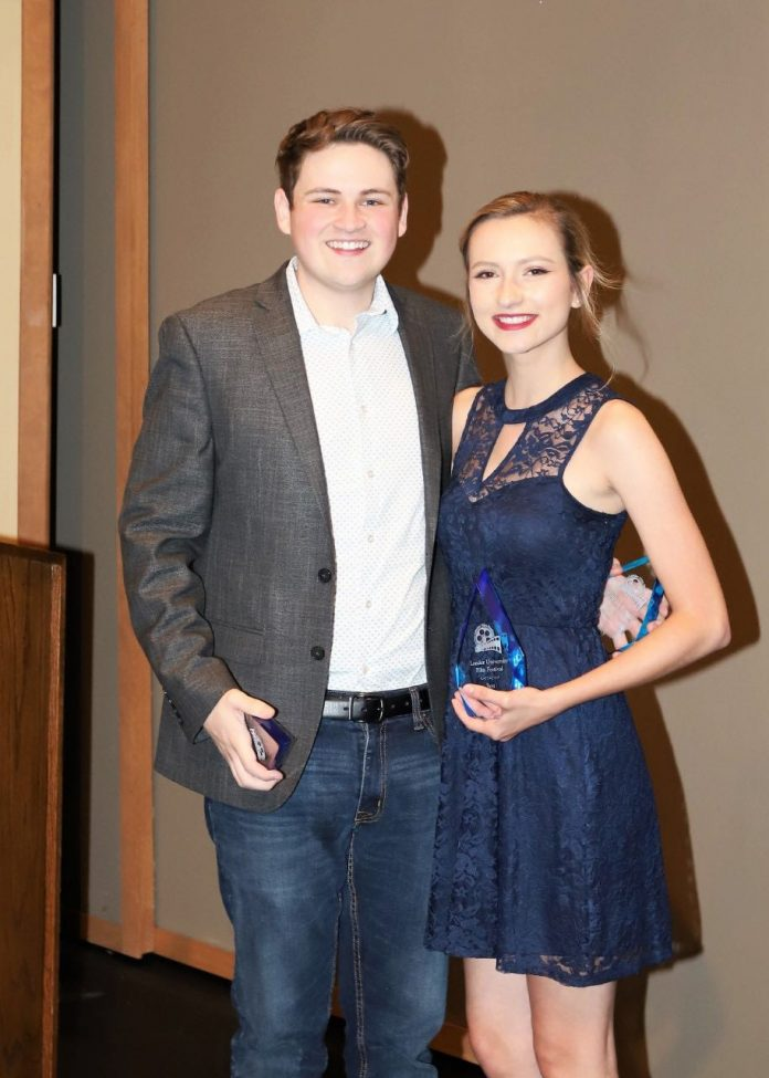 Lander student takes first place – again – for short film