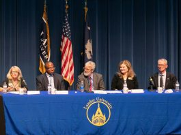 Community Leaders Stress Importance of Local Activism During Panel Discussion at Lander