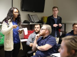 Lander Students Partner With Greenwood County Emergency Operations During Disaster Training