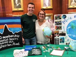 Lander Student Finds Calling; Spearheads Growth in Environmental Organization