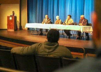 Panelists share insightat Lander's Black History Month kickoff