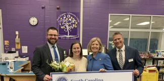Superintendent Spearman Announces Wren High School's Tamara Cox as Teacher of the Year Finalist