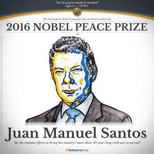 Juan Manuel Santos 2016 Nobel Peace Prize