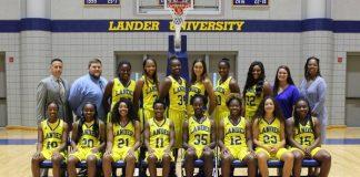 Lander women's basketball