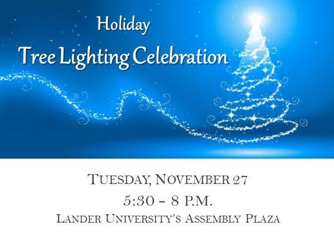 Holiday Tree Lighting celebration to kick-off season at Lander University