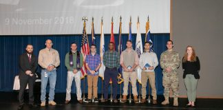 Student veterans and service members recognized during Veterans Day program