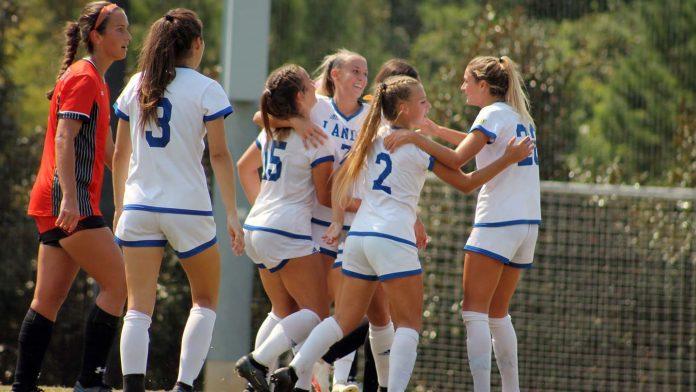 Lander women's soccer